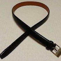 Ralph Lauren Black Leather Belt Photo