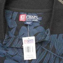 Ralph Lauren Chapspacific Elements Men's Polo Shirt Size L Color Black & N Photo