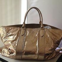Ralph Lauren Collection 4500.00  Metallic Python Tote Hobo   Bag   Photo