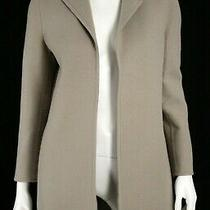 Ralph Lauren Collection 5620 Taupe Wool Cashmere Addison Coat 4 Photo