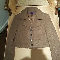 Ralph Lauren Collection Purple Label Cashmere Crop Jacket Sz 6 Photo