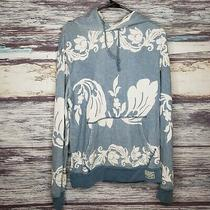 Ralph Lauren Denim & Supply Floral Printed Hoodie Mblue and White Photo