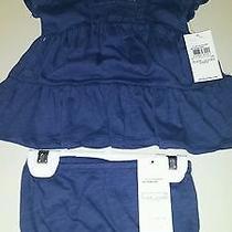 Ralph Lauren Dress and Bloomers 3 Months Brand New Photo