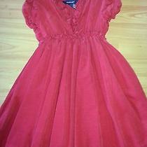 Ralph Lauren Girls Red Holiday Dress 5 Photo