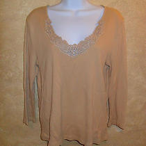 Ralph Lauren Gold Womens Top Gold in Color Photo