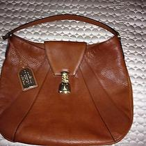 Ralph Lauren Handbag Newbury Wallet Leather Tan Brown Set Photo