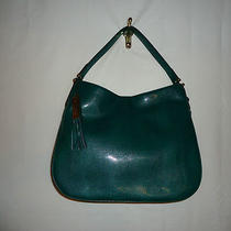 Ralph Lauren Harrow Hobo Forest Green Nwt Photo