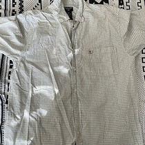 Ralph Lauren Jeans Co. 2  Mens Size M Multi Color Plaid Button Down S/s Photo