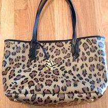 Ralph Lauren Leopard Handbag Photo