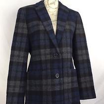 Ralph Lauren Lrl 100% Lambs Wool Plaid Checkered Womens Blazer Jacket Sz 6 Photo