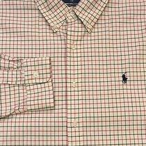 Ralph Lauren Men's Classic Fit Xl Button Down Long Sleeve Shirt  Pony Logo Photo