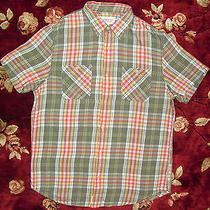 Ralph Lauren Mens Denim & Supply Shirt Size Large L Authentic Green Button Up Photo