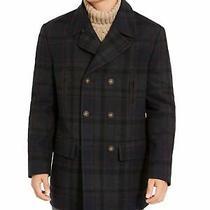 Ralph Lauren Mens Navy Double Breasted Coat Size 42xlong Photo