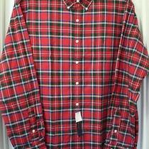 Ralph Lauren Multi-Color Check-Plaid Long-Sleeve Cotton Shirt Size-Xl Nwt Photo