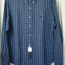 Ralph Lauren Multi-Color Checks Long-Sleeve Linen/cotton Shirt Size-Xl Nwt Photo