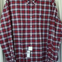 Ralph Lauren Multi-Color Plaid/check Long-Sleeve Cotton Shirt Size-Xl Nwt Photo