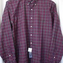 Ralph Lauren Multi-Color Plaids/checks Long-Sleeve Cotton Shirt Size-2xb Nwt Photo