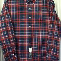 Ralph Lauren Multi-Color Plaids/checks Long-Sleeve Cotton Shirt Size-Xl Nwt Photo