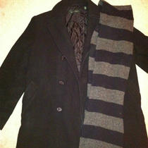 Ralph Lauren Peacoat - Men's and Gap Scarf Photo