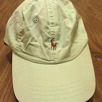 Ralph Lauren Polo Cotton Hat Bear Frat Golf Cap Horse Strapback Photo