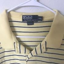 Ralph Lauren Polo Mens Shirt Xxl Yellow Photo