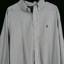 Ralph Lauren Polo Mens Shirt Xl Button Down Shirt Oxford Size Extra Large Euc Photo
