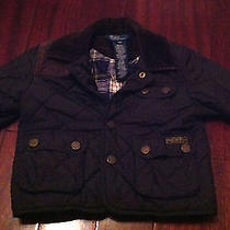 Ralph Lauren Polo Quilted Barn Jacket Infant (12m Spring) Photo