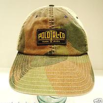 Ralph Lauren - Polo - Rl - Camouflage - Hat - Brand New - Rlx - Camo - Cap  Photo