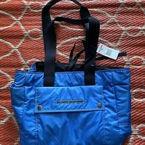 Ralph Lauren Polo Sport Blue Hobo Shoulder Bag Purse Messenger Tote Nylon Photo