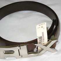 Ralph Lauren Rlx Brown Golf Belt -Size 34 Nwt   Photo