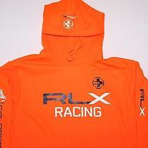 Ralph Lauren Rlx Colorado Trail Racing Bike Raft Hoodie Fleece Sweatshirt Small Photo