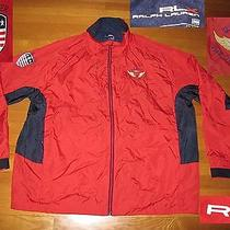 Ralph Lauren Rlx  Jacket Windbreaker Rain 2012 Us Open Olympic Club Golf Ec 3xb Photo
