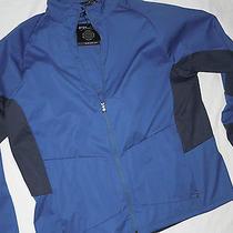 Ralph Lauren Rlx Mens Golf  Softshell Jacket  Xl   Blue With Rlx Logo Full Zip Photo