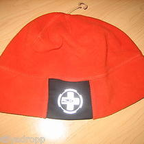 Ralph Lauren Rlx Mens Womens Fleece Beanie Hat Orange Photo