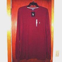 Ralph Lauren Sleepwear/casual Shirt--Large----Maroon Photo