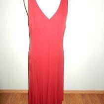 Ralph Lauren  Sleeveless Red Dress - Size  Large Photo