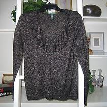Ralph Lauren Sweater/black With Gold) M Photo
