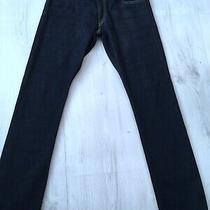 Ralph Lauren Varick Mens Slim Straight Dark Blue Jeans W32 L32 Waist 32 Leg 32  Photo