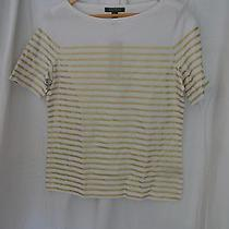 Ralph Lauren White & Gold Top Photo