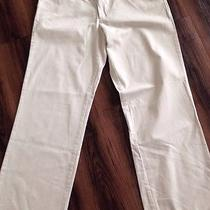 Ralph Lauren Womans Classic Fossil Beige Chino Size 12/32 Photo