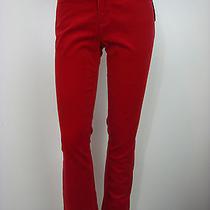 Ralph Lauren Women's Petite Corduroy Modern Straight Pant Express Red 8p Photo