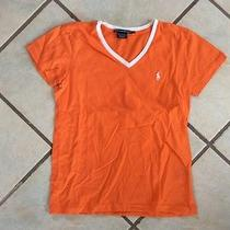 Ralph Lauren Womens Shirt Size Small Orange Photo