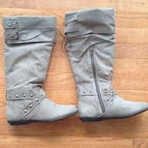 Rampage Batari Grey Suede Boot 6.5 Photo