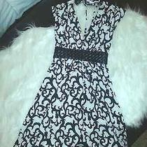 Rampage Black and White Dress Size S Photo