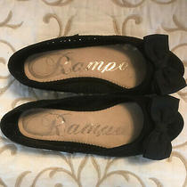 Rampage Black Ballet Slipper / Shoes - Girls Size 3.5 - Mosaic Pattern - Pretty Photo