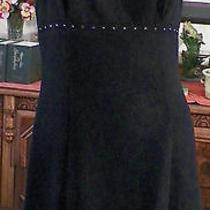 Rampage Black Crepe W Rhinestone Formal Prom Evening Rave Mini Dress 7 Photo