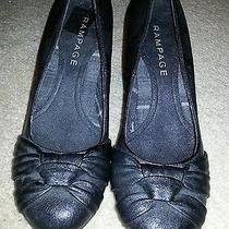 Rampage Black  Heels With Cute Knot Photo
