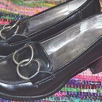 Rampage Black Vegan Manmade Loafers