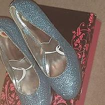Rampage Blue Sequin Shoe  Photo