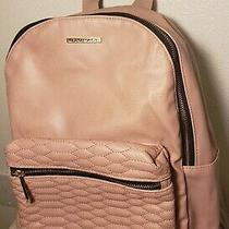 Rampage Blush Faux Leather Exterior Backpack  Photo